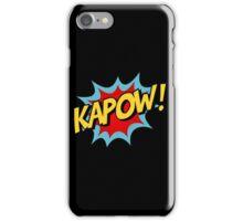 Kapow! Comic Book iPhone Case/Skin