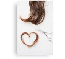 Love your hair Canvas Print