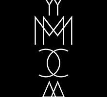 YMCA (black) by darkroomdrama