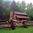 Wooden Cabin - Cades Cove, Tennessee by glennc70000