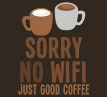 Sorry no WIFI just good coffee by jazzydevil