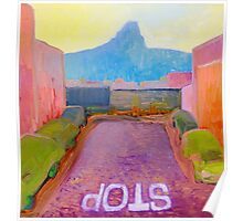 Cape Town Fauvism Poster