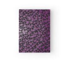 colorful purple umbrellas Hardcover Journal