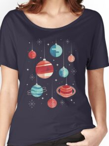 Joy to the Universe (Teal Version) Women's Relaxed Fit T-Shirt