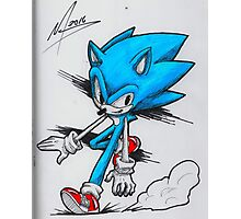 Sonic With... Photographic Print
