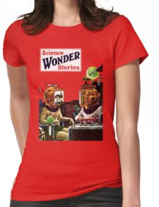 Science Wonder Stories magazine Womens Fitted T-Shirt
