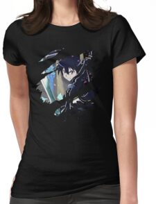 Kirito Anime Manga Shirt Womens Fitted T-Shirt