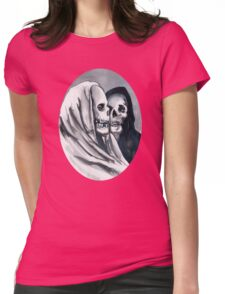 Too Much Bergman Womens Fitted T-Shirt