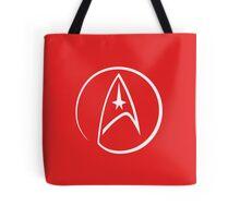 Heathen Trekkie - StarTrek 's Uhura Red Tote Bag