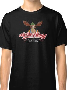 Walley World - America's Favourite Curved White Moose Logo Classic T-Shirt