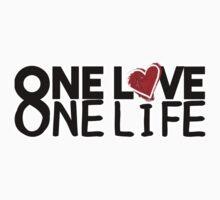 u2 one love one life Baby Tee