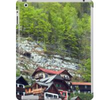 Chalets on the Mountains  iPad Case/Skin