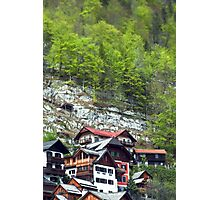Chalets on the Mountains  Photographic Print