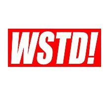 Wasted - Supreme parody (GTA)  Photographic Print