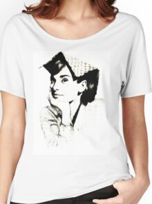 Audrey Hepburn pn06 Women's Relaxed Fit T-Shirt
