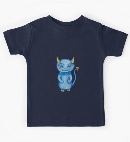 cute little monster Kids Tee