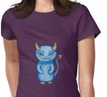cute little monster Womens Fitted T-Shirt