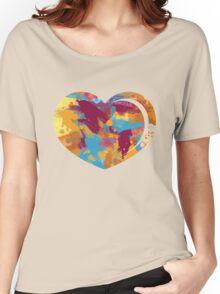 Artistic heart Women's Relaxed Fit T-Shirt