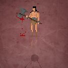 8-Bit Marvels Conan by Paulo Capdeville