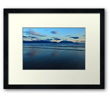 Inch Strand After Sunset Framed Print