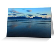 Inch Strand After Sunset Greeting Card