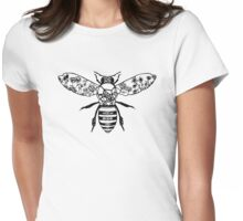 Bee Tee Womens Fitted T-Shirt
