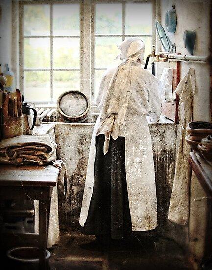 The kitchen maid by Alan Mattison