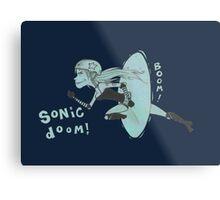 Sonic Doom Metal Print