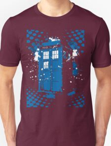 Retro Ink Splash in Time and Relative Dimension In Space T-Shirt