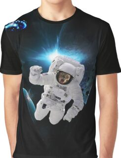 Capitain KitKat Lost in Space Graphic T-Shirt