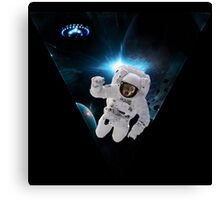Capitain KitKat Lost in Space Canvas Print