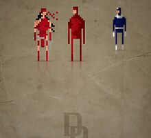 8-Bit Marvels Daredevil by Paulo Capdeville