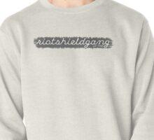 RIOTSHIELDGANG grey simplistic print Pullover