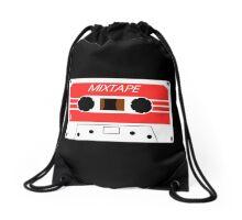 Mixtape Cassette Tape by Chillee Wilson Drawstring Bag