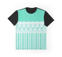 Lace Border 3 Graphic T-Shirt