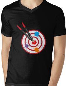 PaintingOnTarget Mens V-Neck T-Shirt