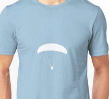 white paraglider Unisex T-Shirt