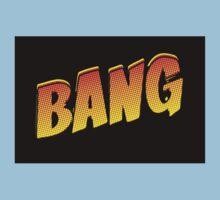 Cartoon Bang by Chillee Wilson Kids Tee