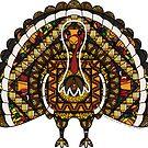 Fall Turkey by Valerie Hartley Bennett