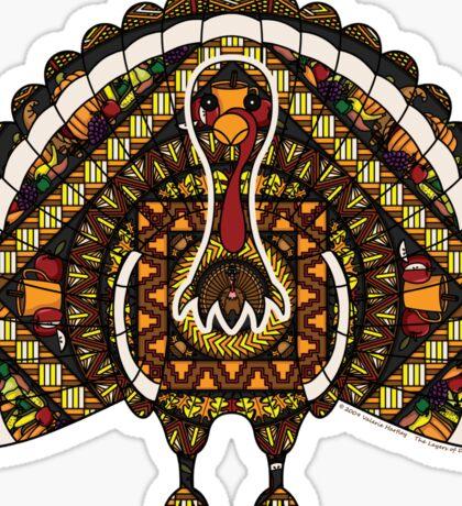 Fall Turkey Sticker