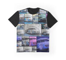 Supersportswagon Audi R8 - Collage - Sportwagen - Auto - Automobil Graphic T-Shirt