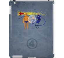 8-Bit Marvels Fantastic Four iPad Case/Skin