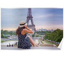 alone paris Poster