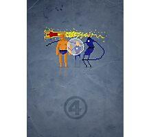 8-Bit Marvels Fantastic Four Photographic Print