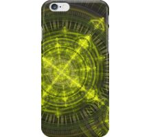 Radioactive fractal iPhone Case/Skin