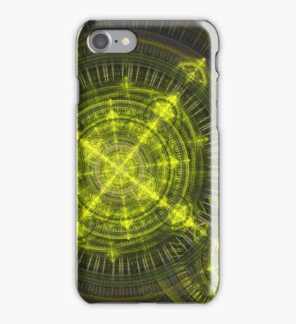 Radioactive fractal iPhone Case/Skin