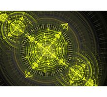 Radioactive fractal Photographic Print