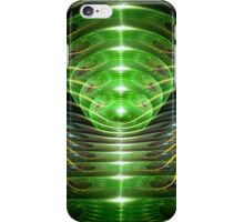 Green helix iPhone Case/Skin