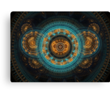 Mechanical butterfly Canvas Print