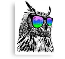 Cool Owl Canvas Print